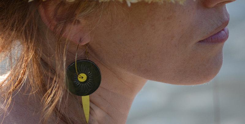 Boucles d'oreilles Solis