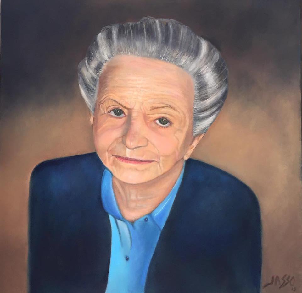 Retrato de Doña Bertha Elia Izquierdo