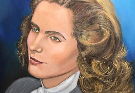 RETRATO DE MI ABUELITA BERTHA ELIA DE JOVEN