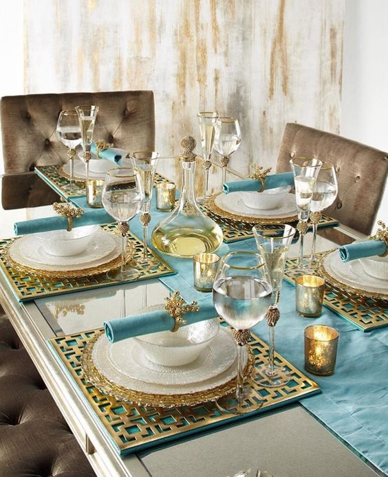 Luxe Gold Rimmed Glassware