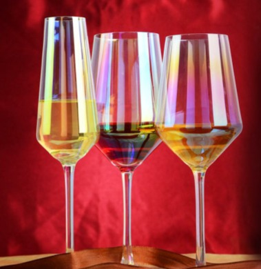 Rainbow Tinted Glassware