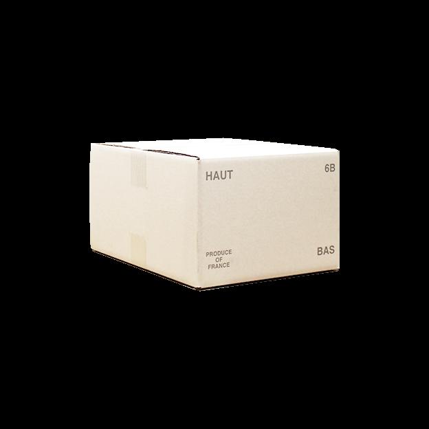 Carton 6B 3x2 rabats rentrant neutre