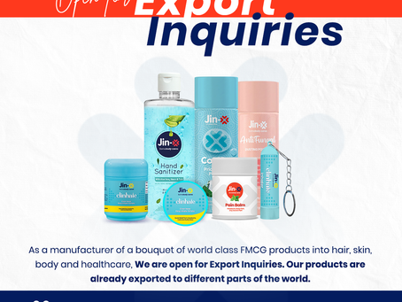Manufacturer & Exporter Of Fmcg Products.
