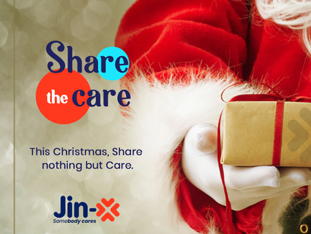 Christmas with Jin-X products