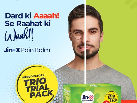 Jin-X Pain Balm For Muscular Pain (Green Balm )