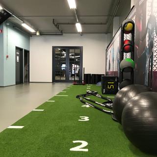Concept kleur- en interieur sportschool