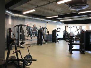 Concept interieur- en kleuradvies sportschool