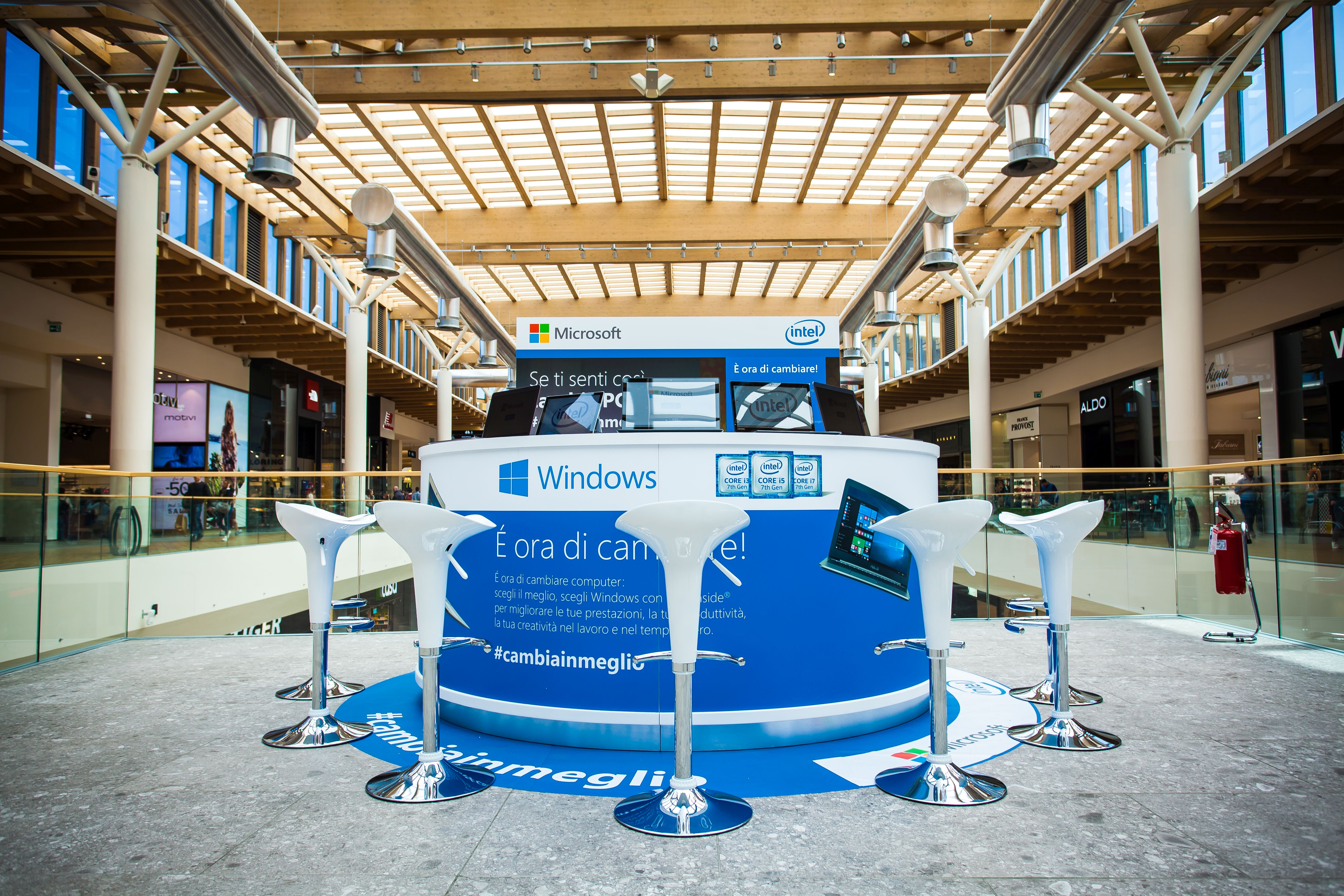 Branded Stand