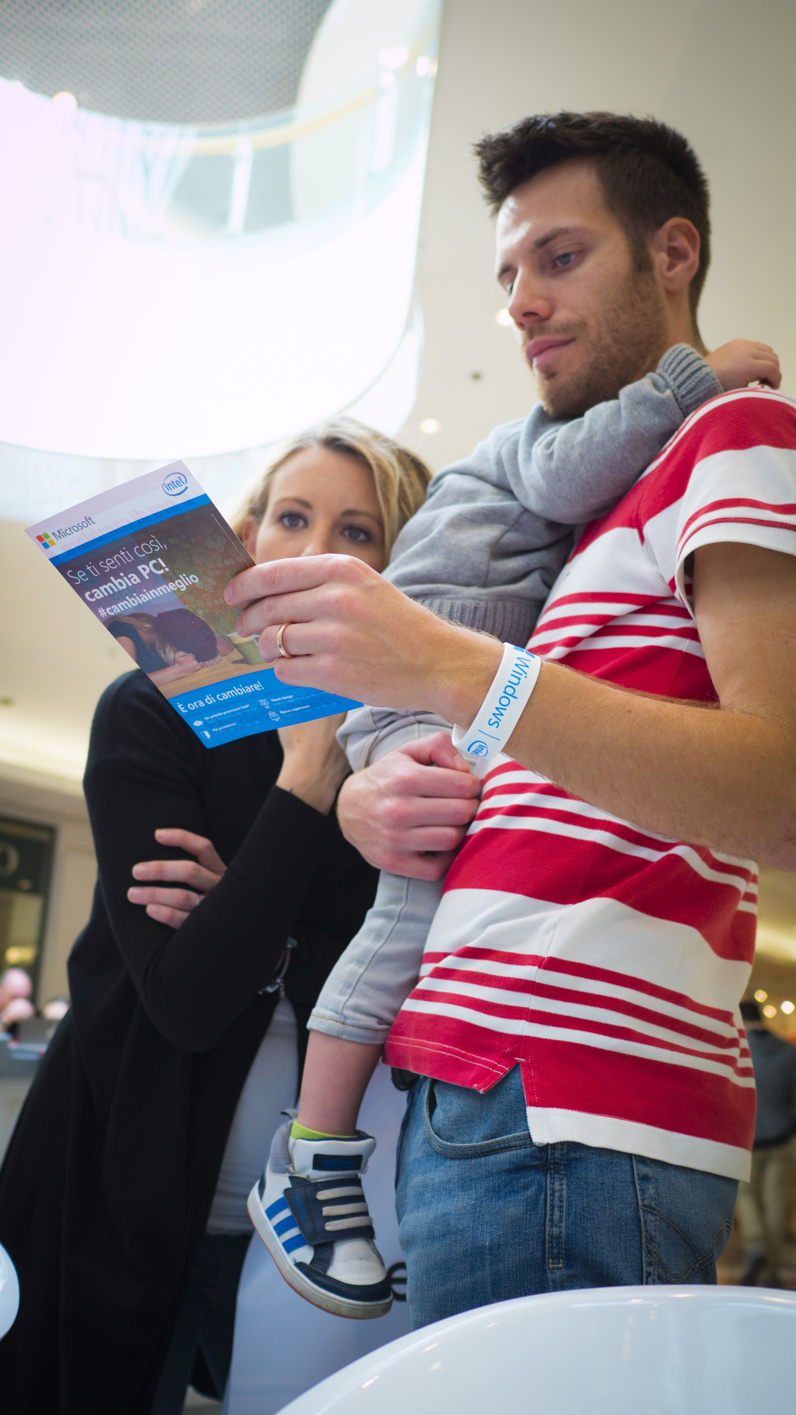 Branded Flyer and Customers