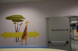 Giraffe Signage