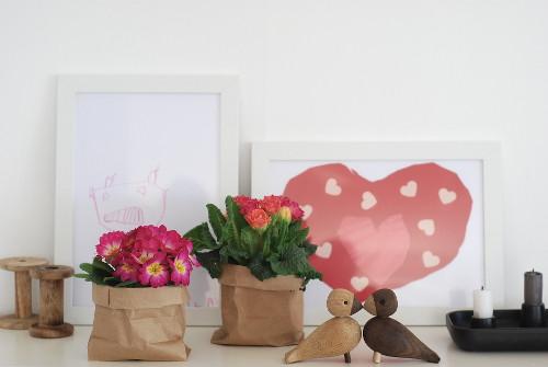 Houseplants Decor Ideas DIY ideas paper pots containers book planter