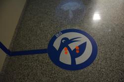 Floor Interactive Signage