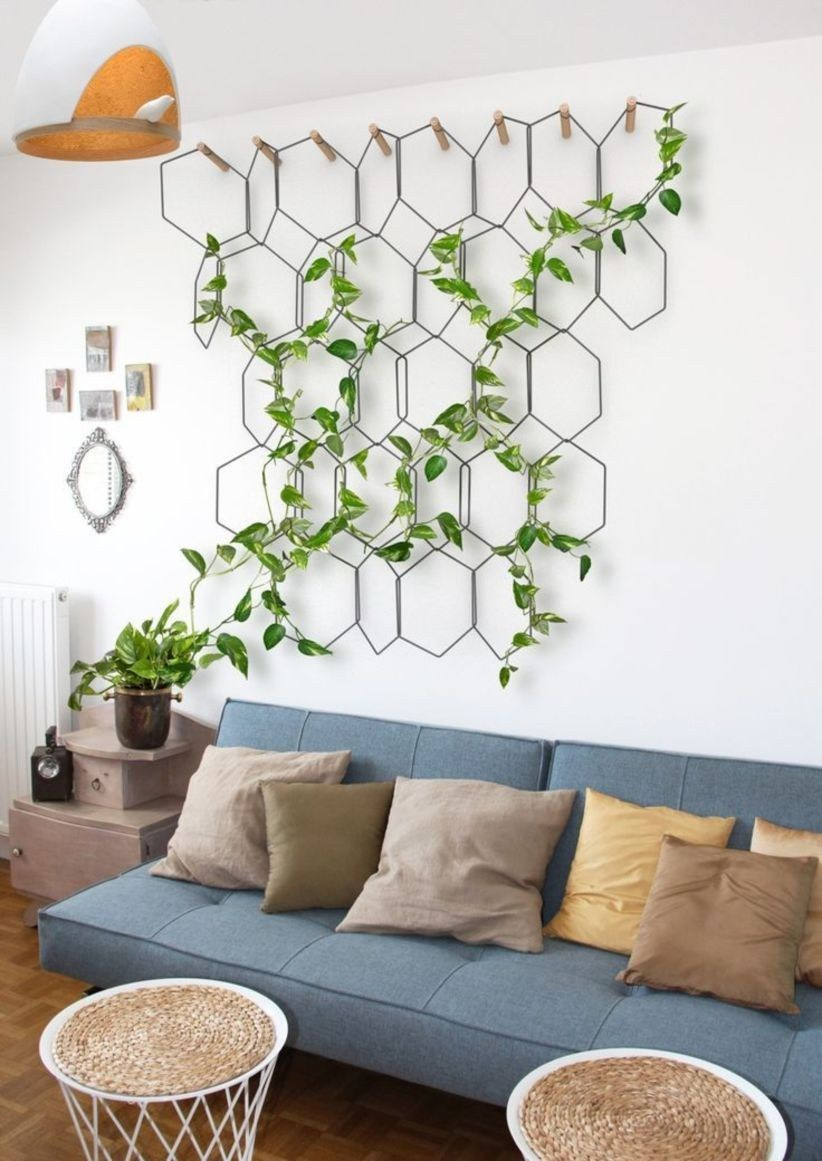 Houseplants Decor Vine Wall