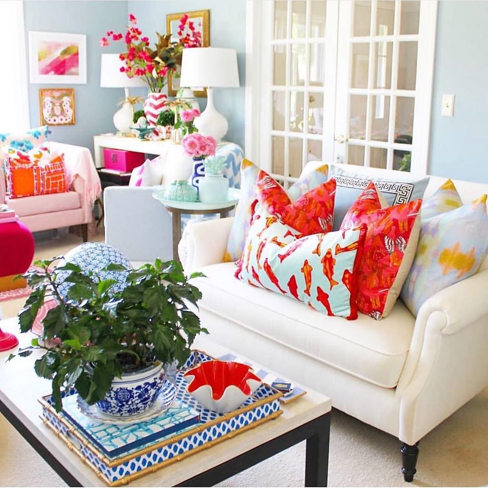 Interior Design Ideas To Make You Happier At Home Colorful Decor