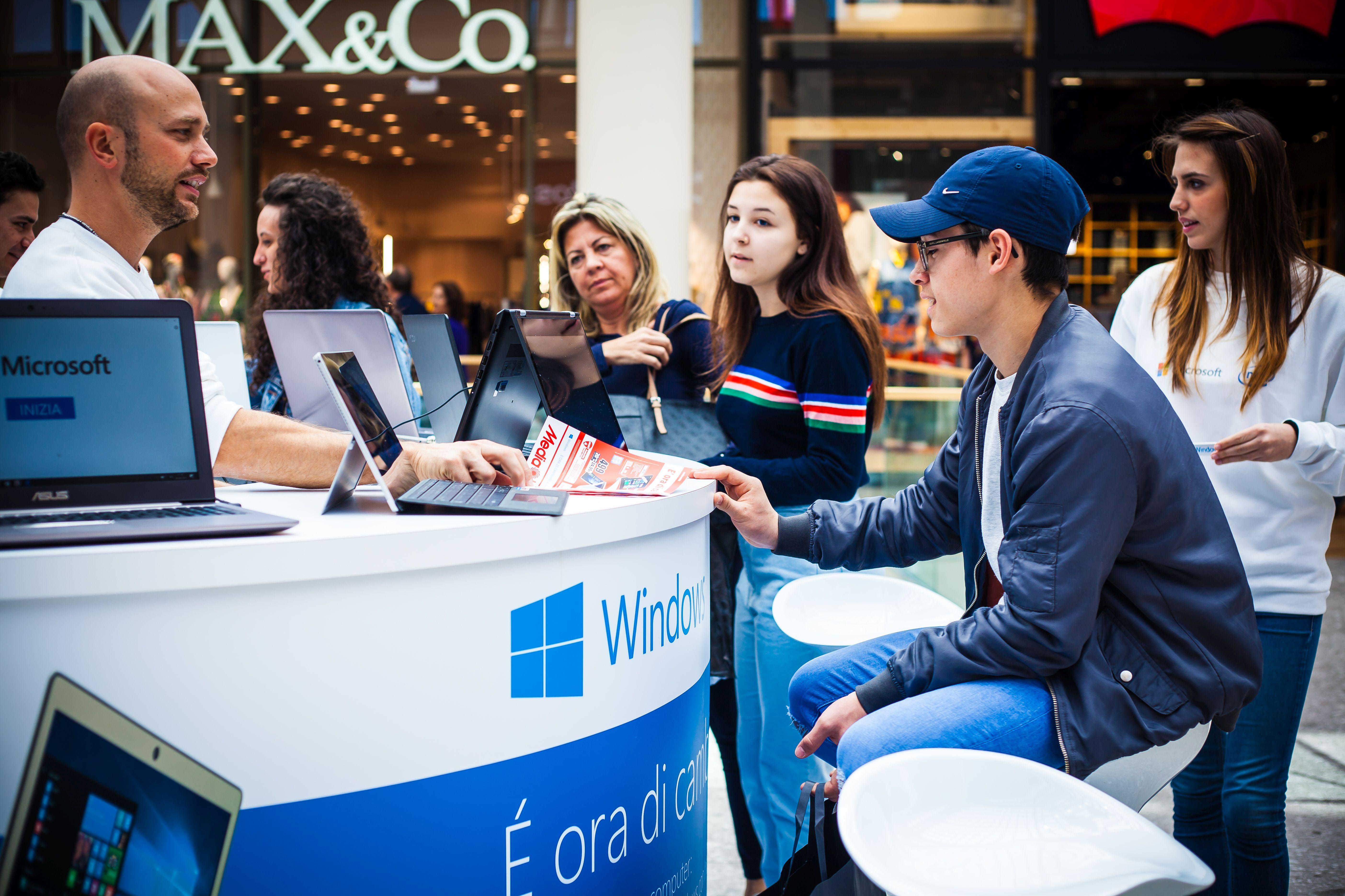 Staff and Customers