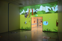 Interactive Welcome Wall