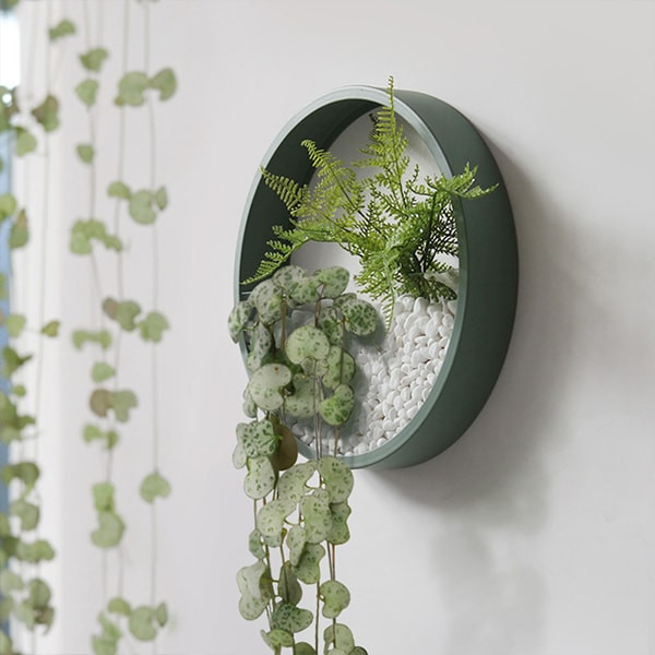 Houseplant Decor Ideas Wall Mounted Planters