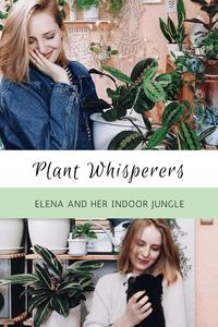 Plant Whisperers Houseplant Lovers Elena lenmorv