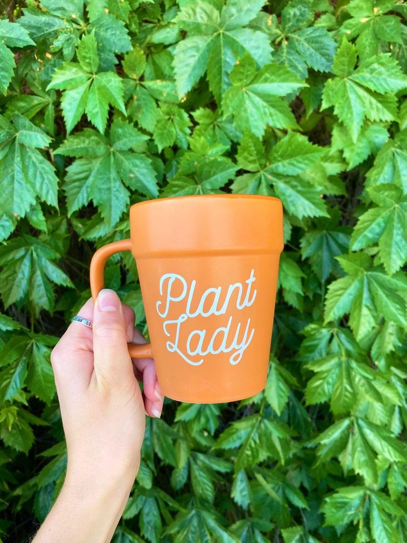 Plant Lady Mug Plant Lover Christmas Gift