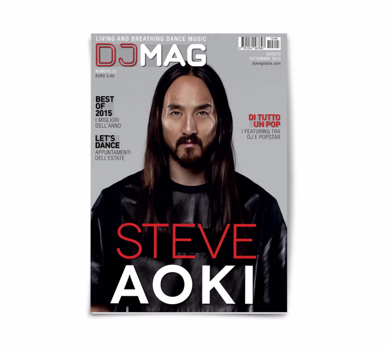 DJ MAG Redesign