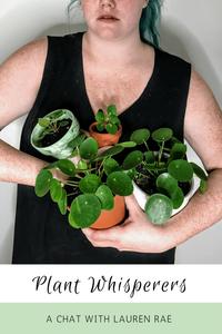 Plant Whisperers Houseplants Lovers Lauren Rae loraegrows