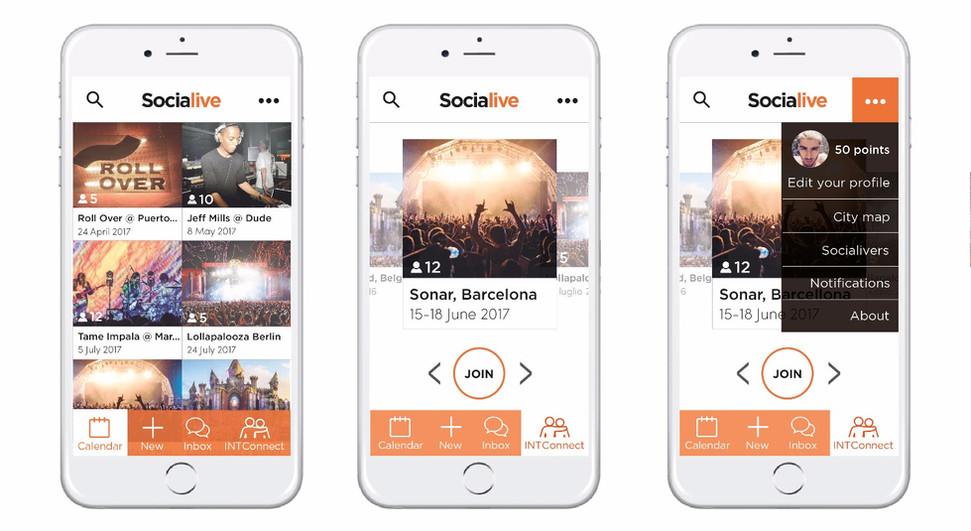 Socialive Mobile App
