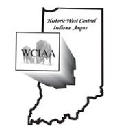 West Central Indiana Angus Association logo