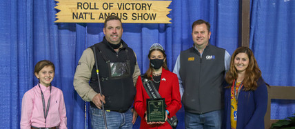 2020 NAILE Super Point ROV Angus Show Results