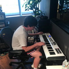 At Capitol Studios in Los Angeles