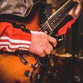 Strumming on one of my Favorite Guitars