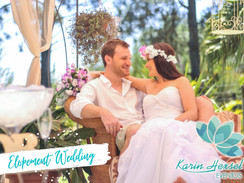 Elopement Wedding  por Karin Hexsel