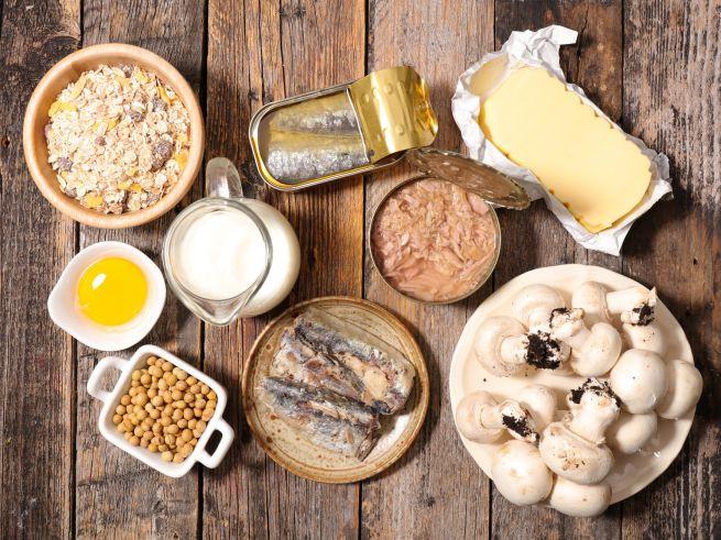 Fonti alimentari di vitamina D
