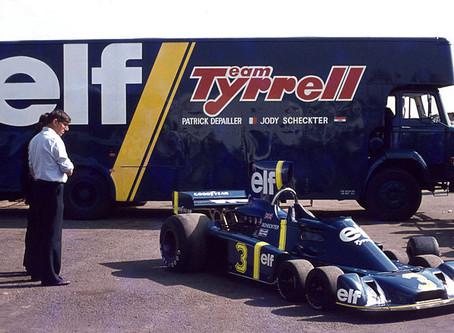 Tyrrell P34 - o Fórmula 1 de seis rodas