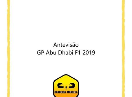 Antevisão GP Abu Dhabi F1 2019