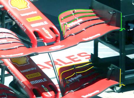 Actualizações da Ferrari