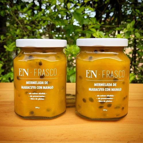 Mermelada de Maracuya y Mango - EN FRASCO