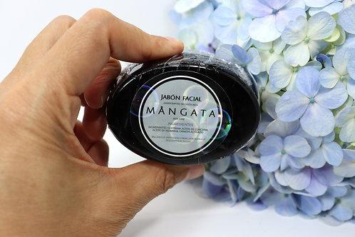 Jabón facial neutro Carbón Activado - MANGATA