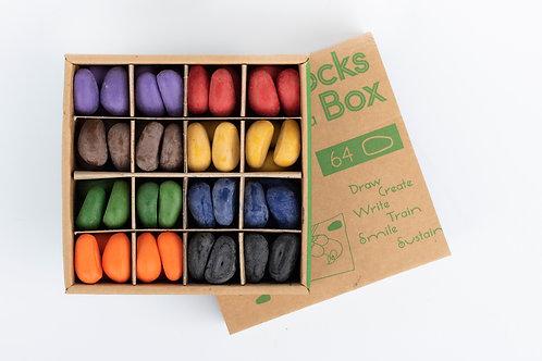 64 Crayon Rocks Box  8 colores - KIKI Y PEPE