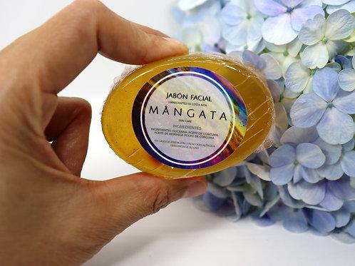 Jabón facial neutro Cúrcuma - MANGATA