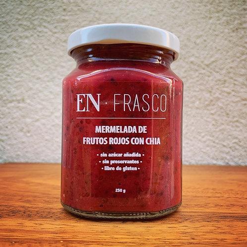 Mermelada Frutos Rojos y Chia - EN FRASCO