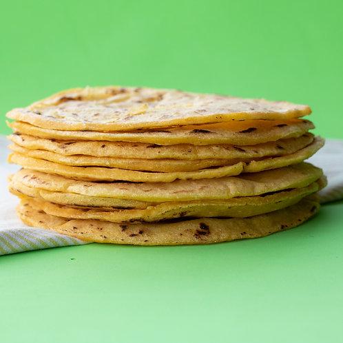 Tortillas de maíz amarillo LA LUCHADORA