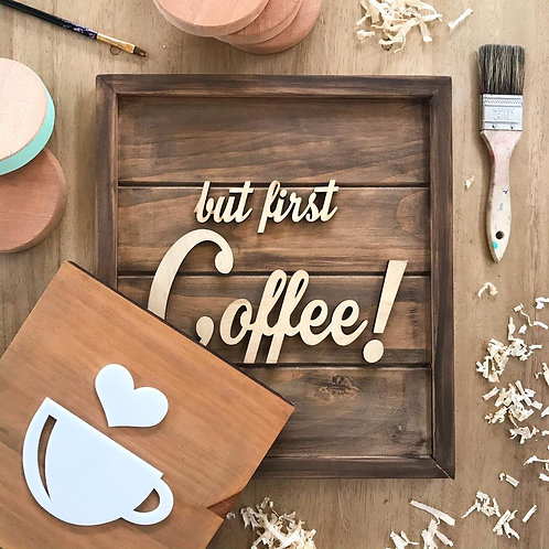 But First Coffee - ILUSTRATE