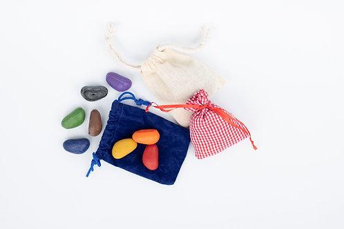 Crayon Rocks Bolsa 8 colores - KIKI Y PEPE