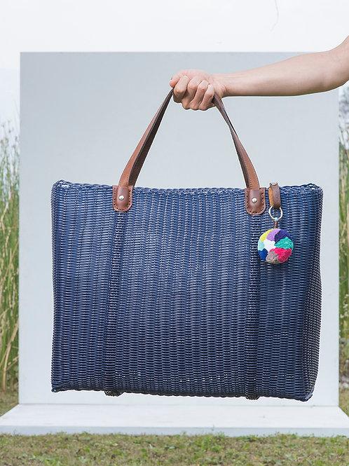 La Playa Chick Towel XL Bag -  LAMULTICOLOR