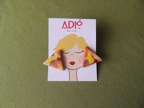 Aretes Triángulos Locos - ADIÓ