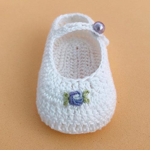 Zapatos bebé 0m - TULIPÁN AZUL
