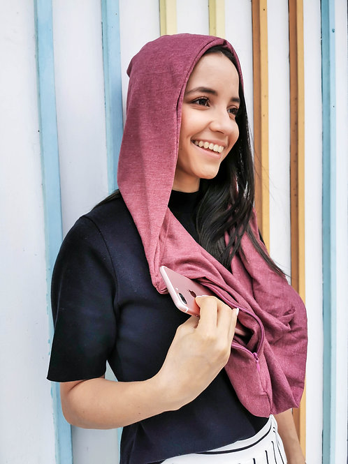 Safety Hooded Scarf - COCÓ DESIGN