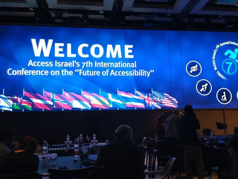 Global Ramp at Access Israel 7th International Conference 2019 (31.5.2019)