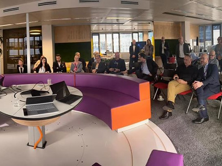 Presenting our Accessibility Implementation Model at Microsoft Headquarters in Vienna