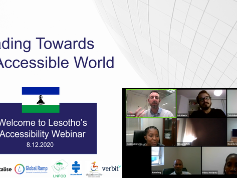 Heading towards an Accessible Lesotho!